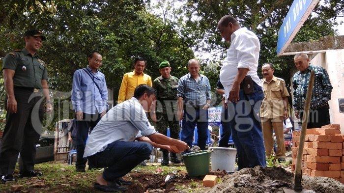 Gedung PWI Kota Bogor Dibangun Kembali