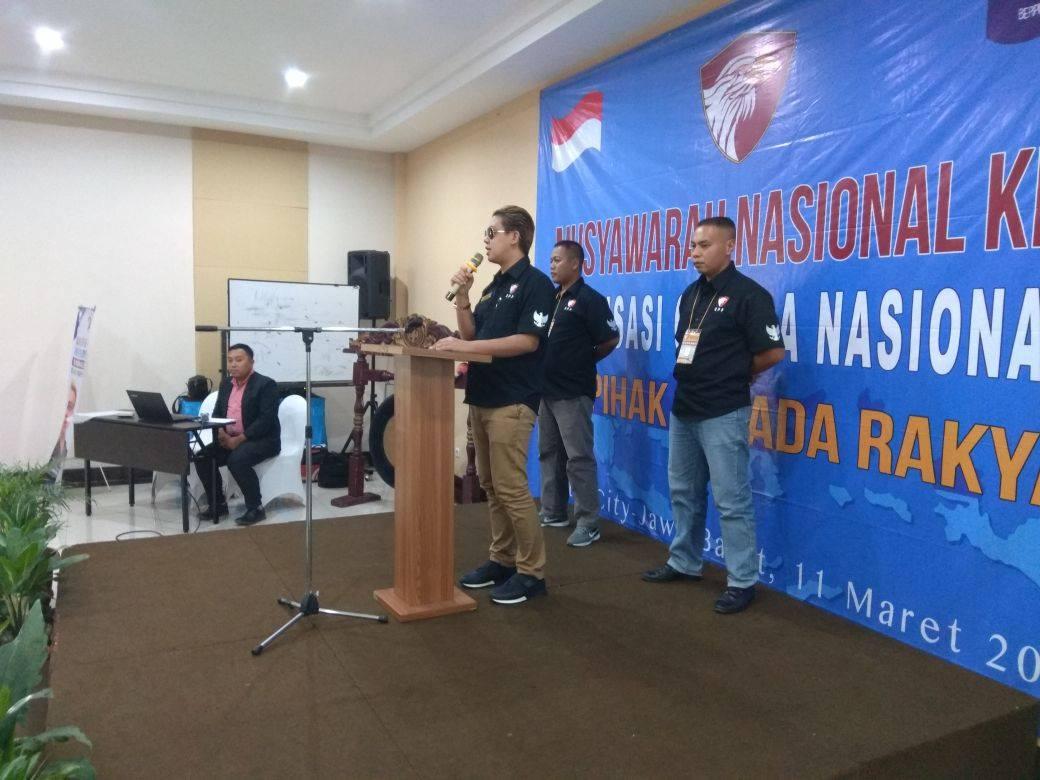 Peresmian dan Pembentukan Garuda Nasionalis (GANAS) serta MUNAS I