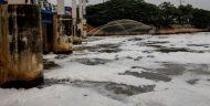 Limbah Deterjen Warga Penyebab Lautan Busa di KBT Marunda
