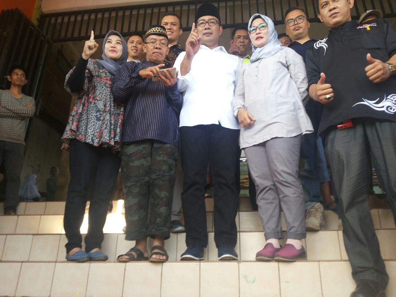 Ridwan Kamil Blusukan ke Pasar Ciawi Bogor