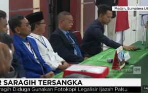 Cagub Sumut, JR Saragih Ditetapkan Jadi Tersangka