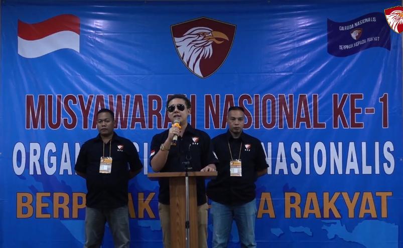 Rangkaiyan acara MUNAS I Garuda Nasionalis