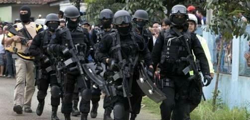 8 Terduga Teroris Ditangkap di Jatim