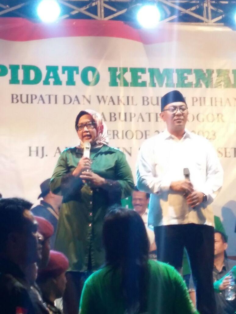 Pilkada Kabupaten Bogor Ade Yasin NO 2 Unggul Dalam Hitungan Pasangan Calon Bupati