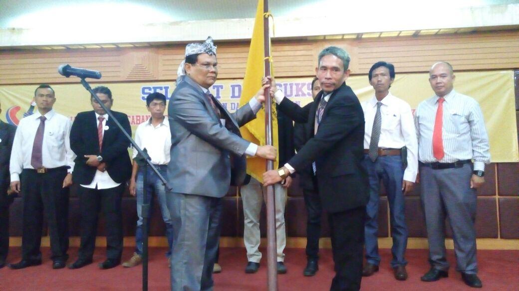Pelantikan Serta Peresmian DPC PJI-DEMOKRASI Kabupaten Bogor Oleh Ketua DPP Pusat