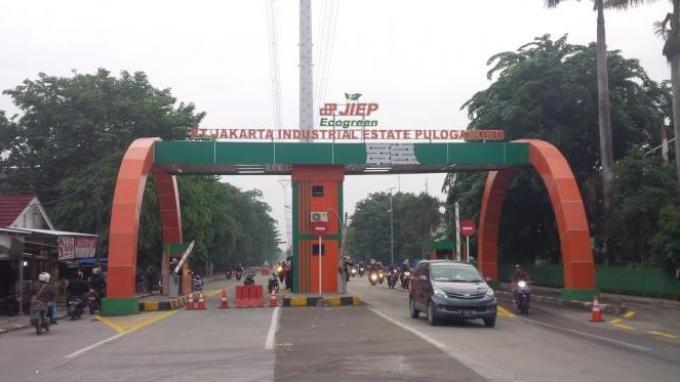 Penjelasan JIEP terkait penertiban PKL di kawasan industri Pulogadung