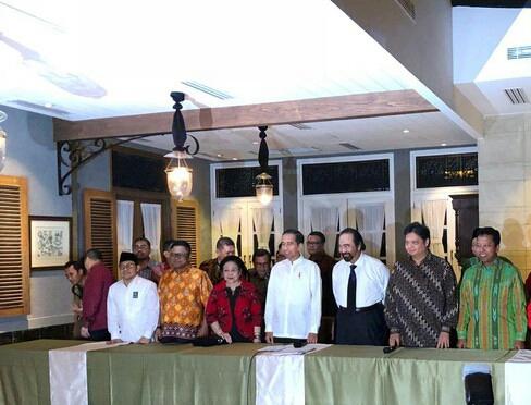 Jokowi Deklarasi Ma'ruf Amin Jadi Cawapres 2019-2024 BukanMahfud Md