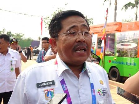 Dua Menteri Ikut Meriahkan Torch Relay Asian Games di Jakarta Utara