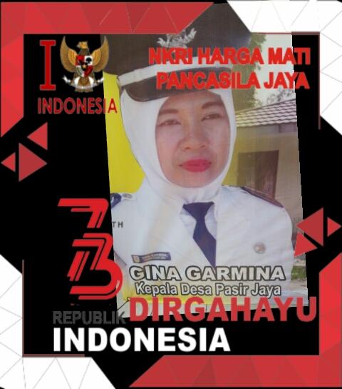 Ucapan Selamat HUT RI Ke-73 Pemeritahan Desa Pasir Jaya
