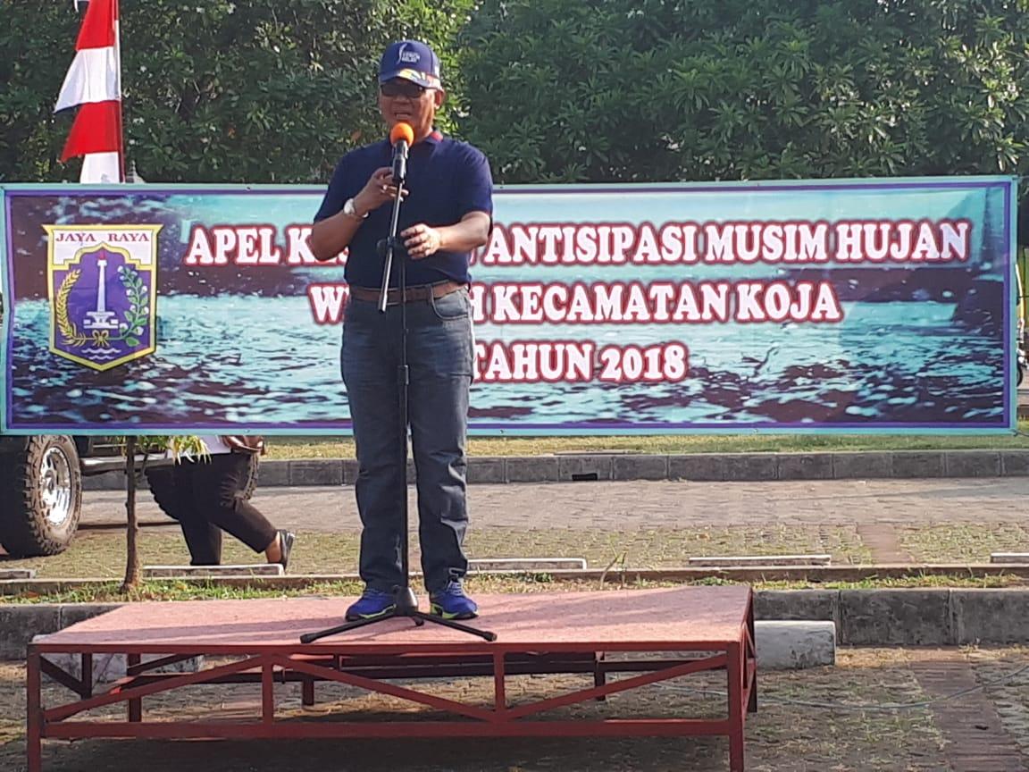 Gelar Apel Walikota Jakarta Utara Nyatakan Siap hadapi Musim Penghujan