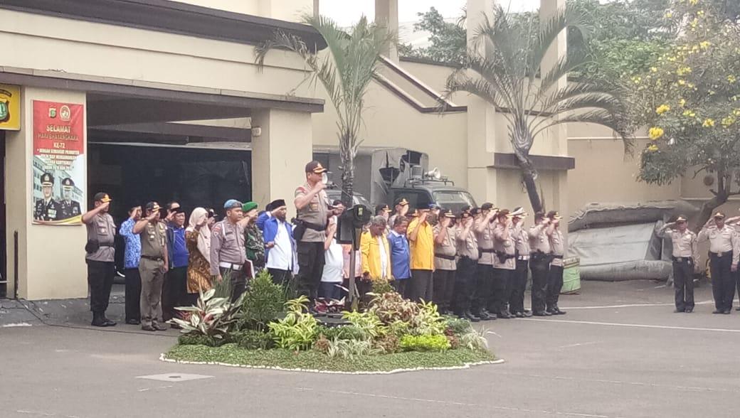 Polres Jakarta Utara Siapkan 2.500 Personel Untuk Pengamanan Pilpres 2019