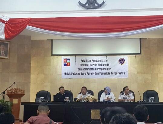 Dishub Kota Bogor, Terapkan Mesin TPE Dengan Sosialisasi dan Pelatihan Terminal Parkir Elektronik
