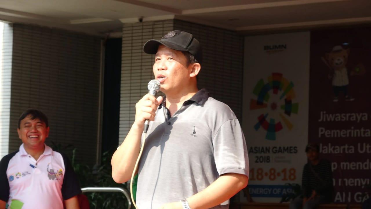 Wakil Walikota SilaturamiDengan Warga Jakarta Utara Dalam Senam Primadona
