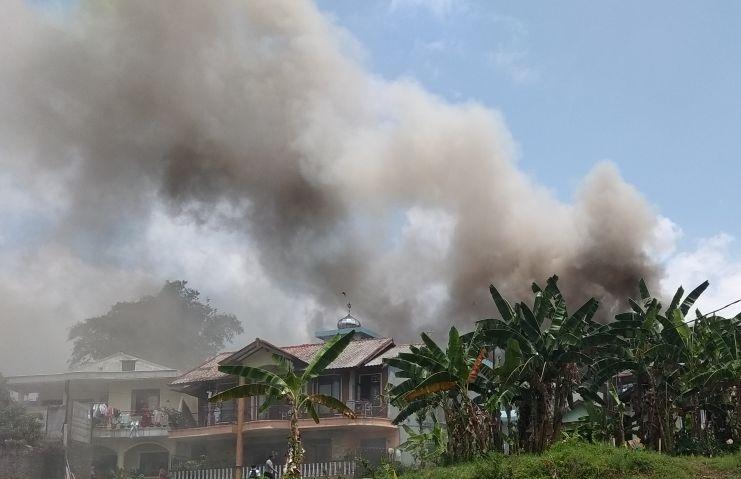 Rumah Di Cisarua Puncak Terbakar, Tiga Balita Tewas Diduga Main Petasan