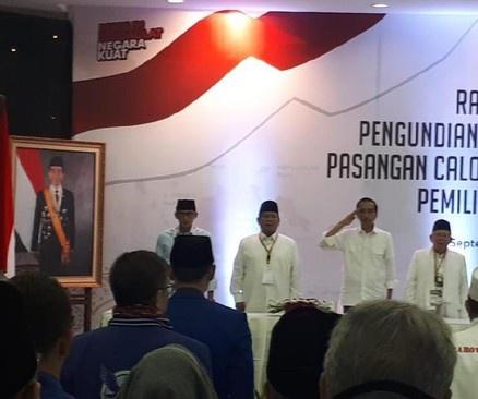 KPU Tetapkan Jokowi Nomor Urut 1 Dan Prabowo Nomor 2 Di Pilpres 2019