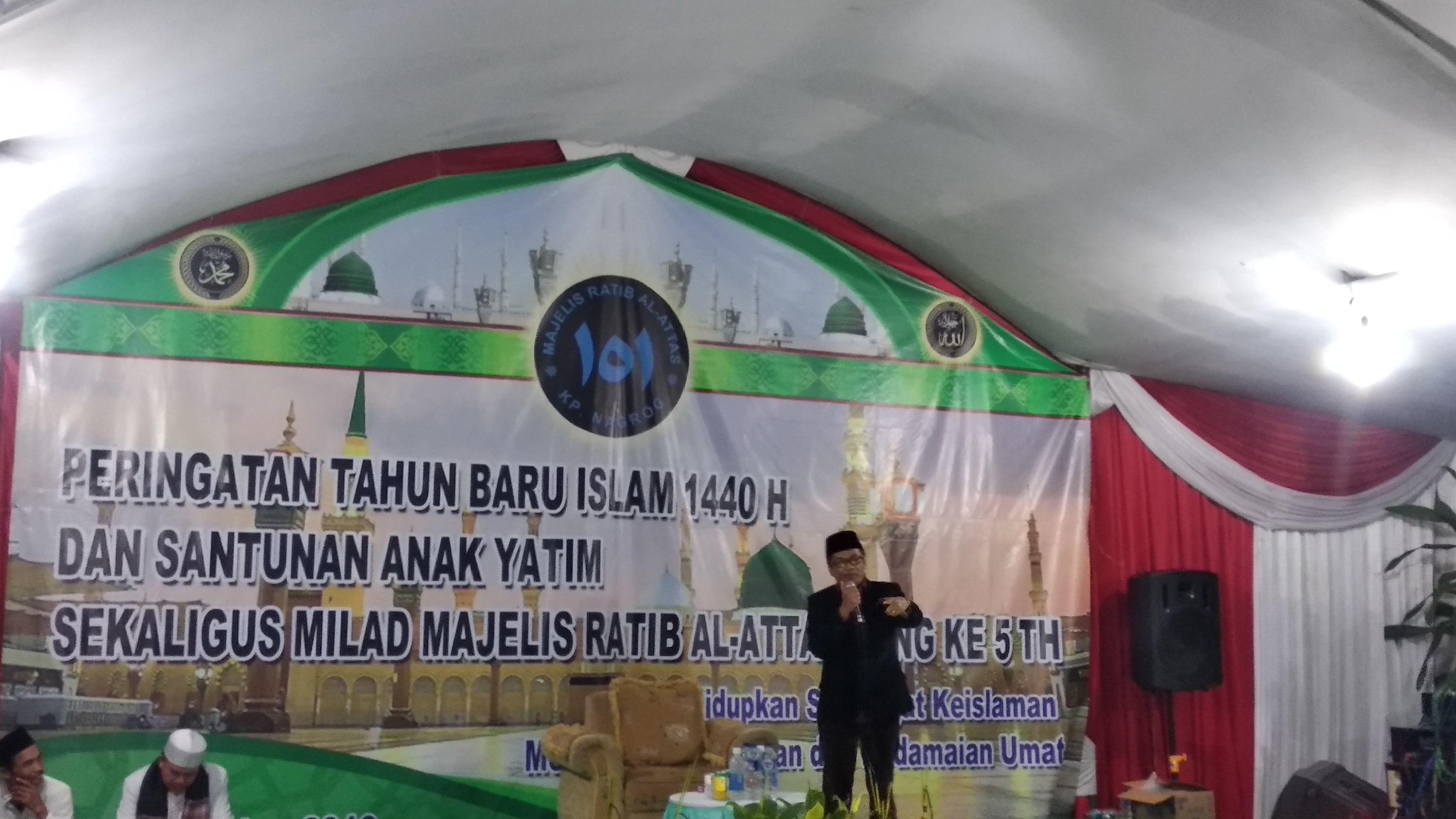 Warga Desa Sukamahi Laksanakan Malam Akbar 1 Muharam 1440 Kampung Nagrok