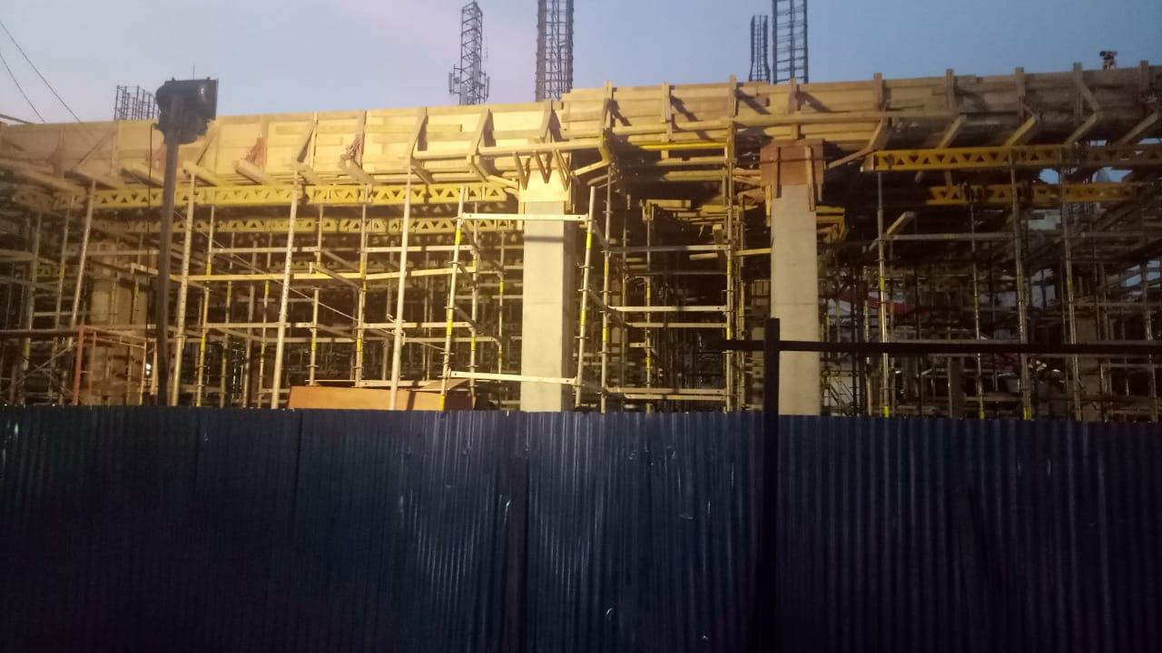 Peroyek Pembangunan Kantor Kecamatan Tanjung Priok Paling Lambat