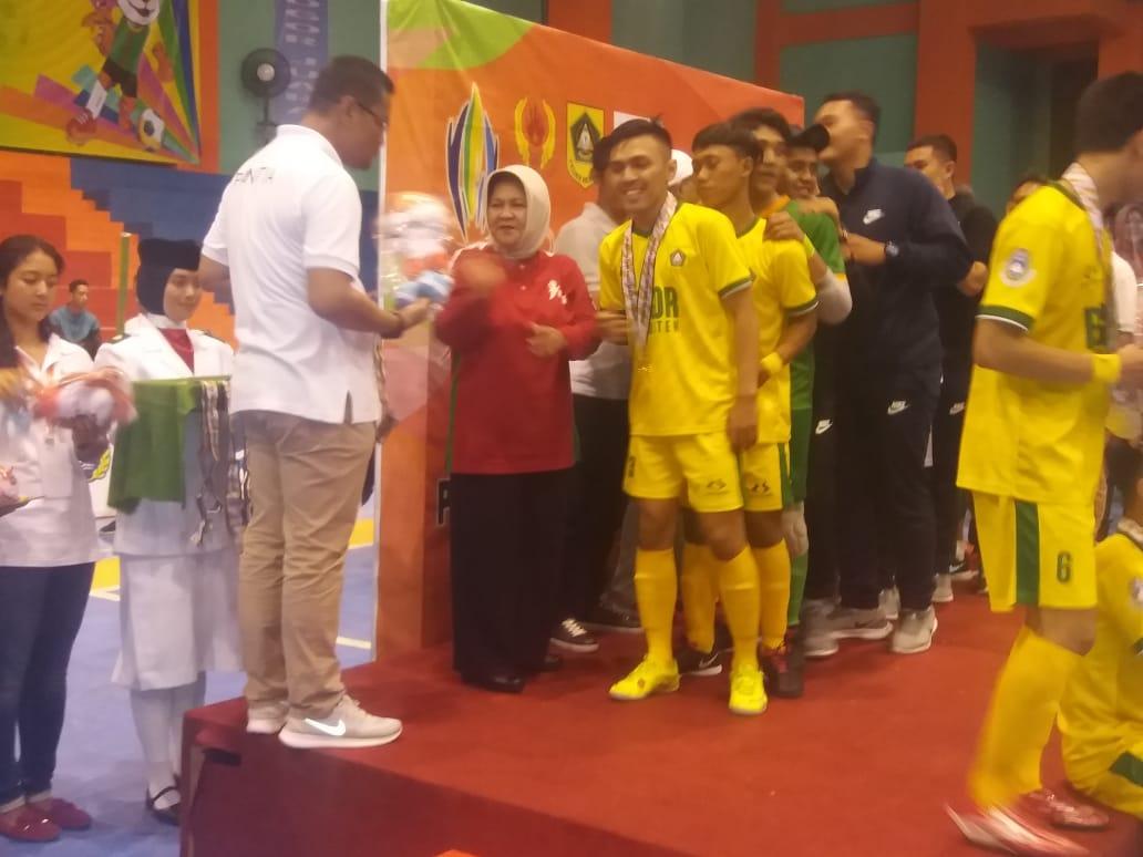 Kabupaten Bogor Raih Emas Pada Putra Di Ajang Porda XIII Jabar