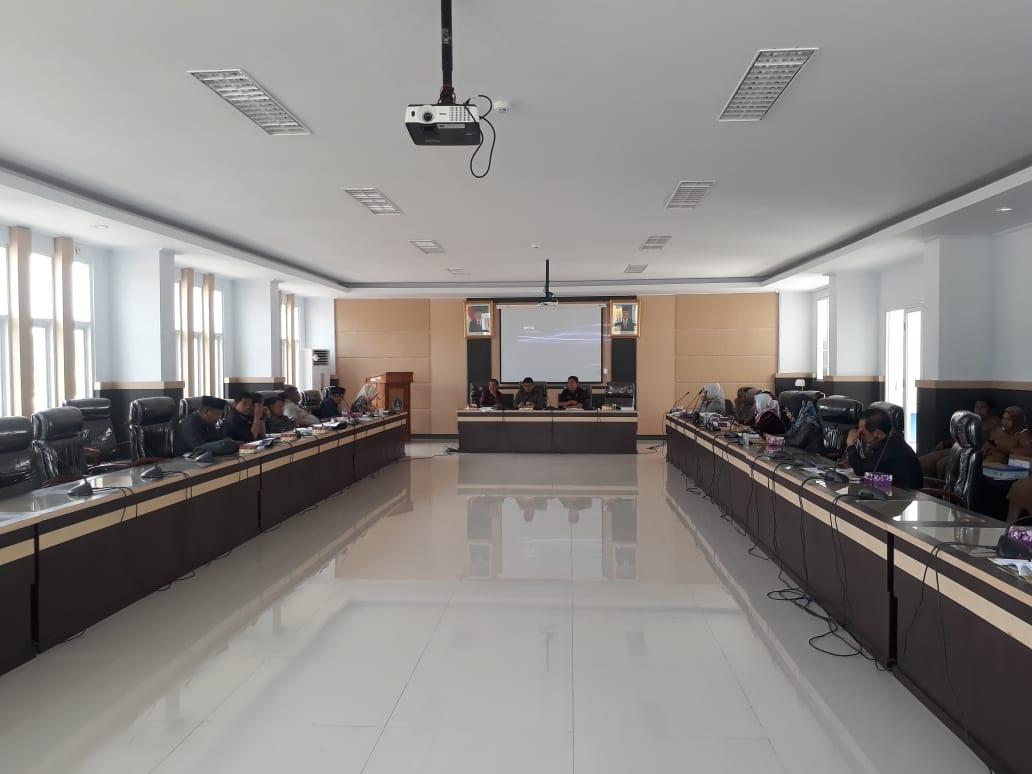 Rapat Penyusunan Tata Tertib Anggota DPRD Kota Kendari