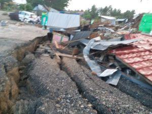 Dampak Gempa Di Desa Jono Oge Kec. Biromaru Kab Sigi, (Rakyatbicara.co.id).