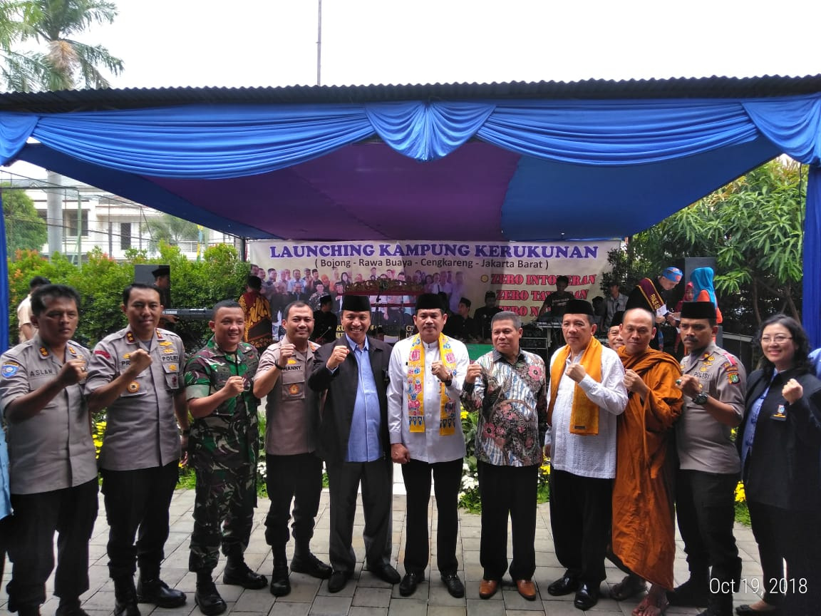 Launching Kampung Kerukunan di Rawa Buaya Menjadi Percontohan