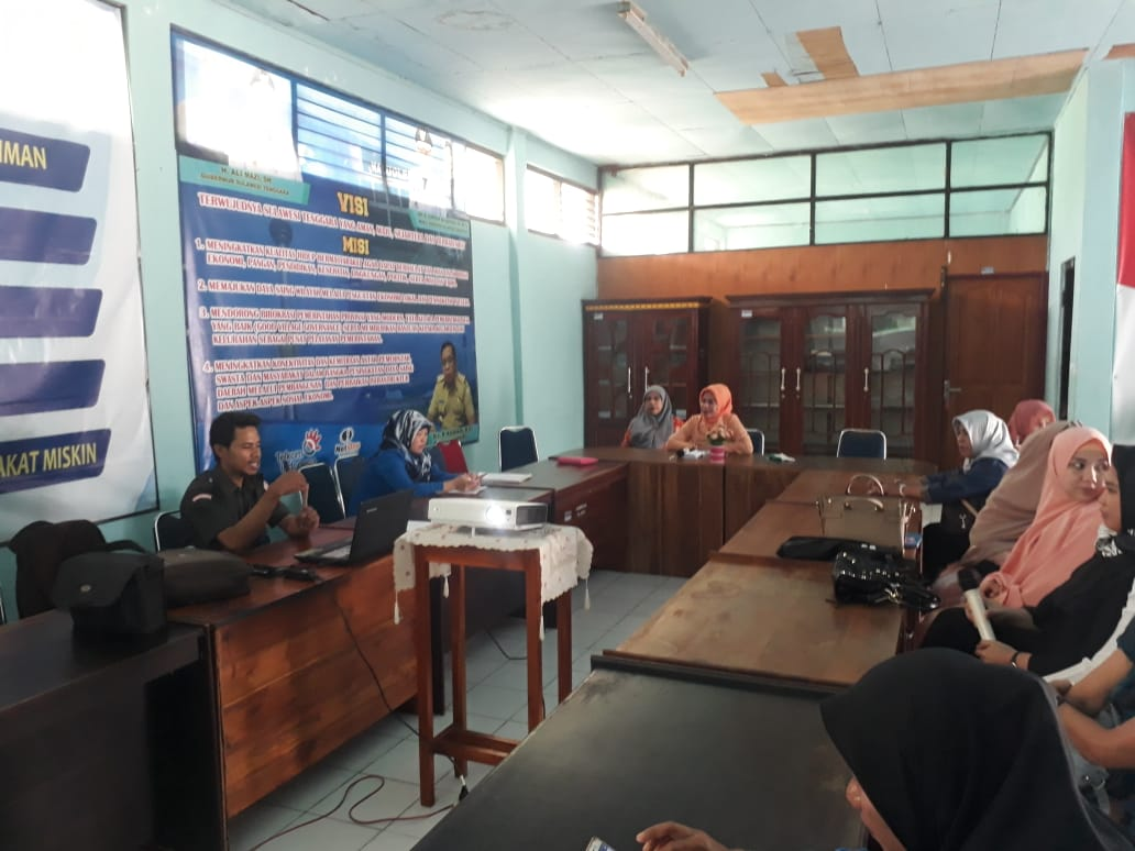 Dharma Wanita Dinas Komimfo Sultara Mengadakan Penyuluhan Kesehatan Pencegahan Kangker