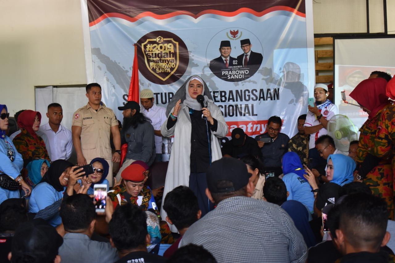 Deklarasi Dengan Mengusung Tagline 2019, Prabowo Sandi