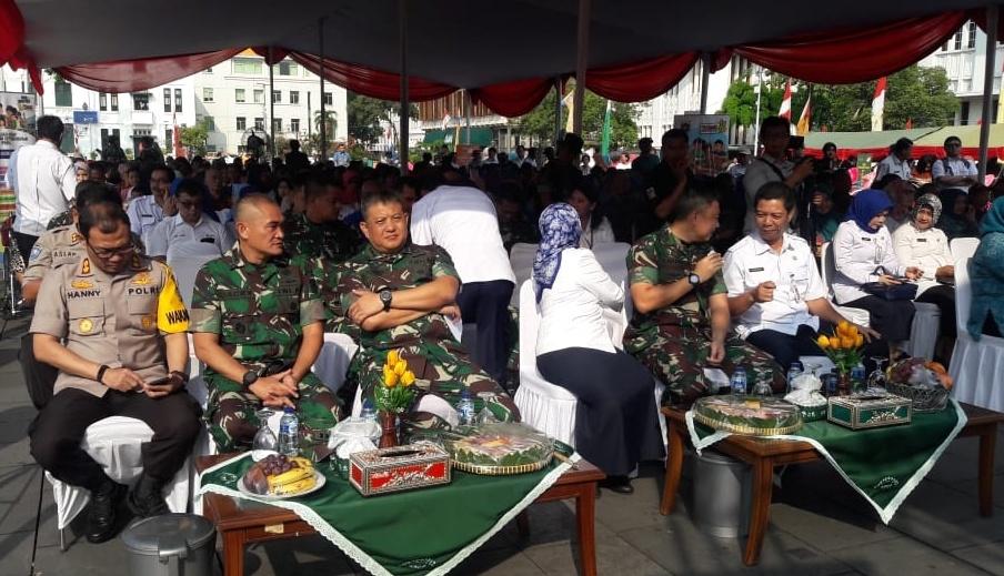 Pangdam Jaya Hadiri Penutupan TMKK Di Jakarta Barat