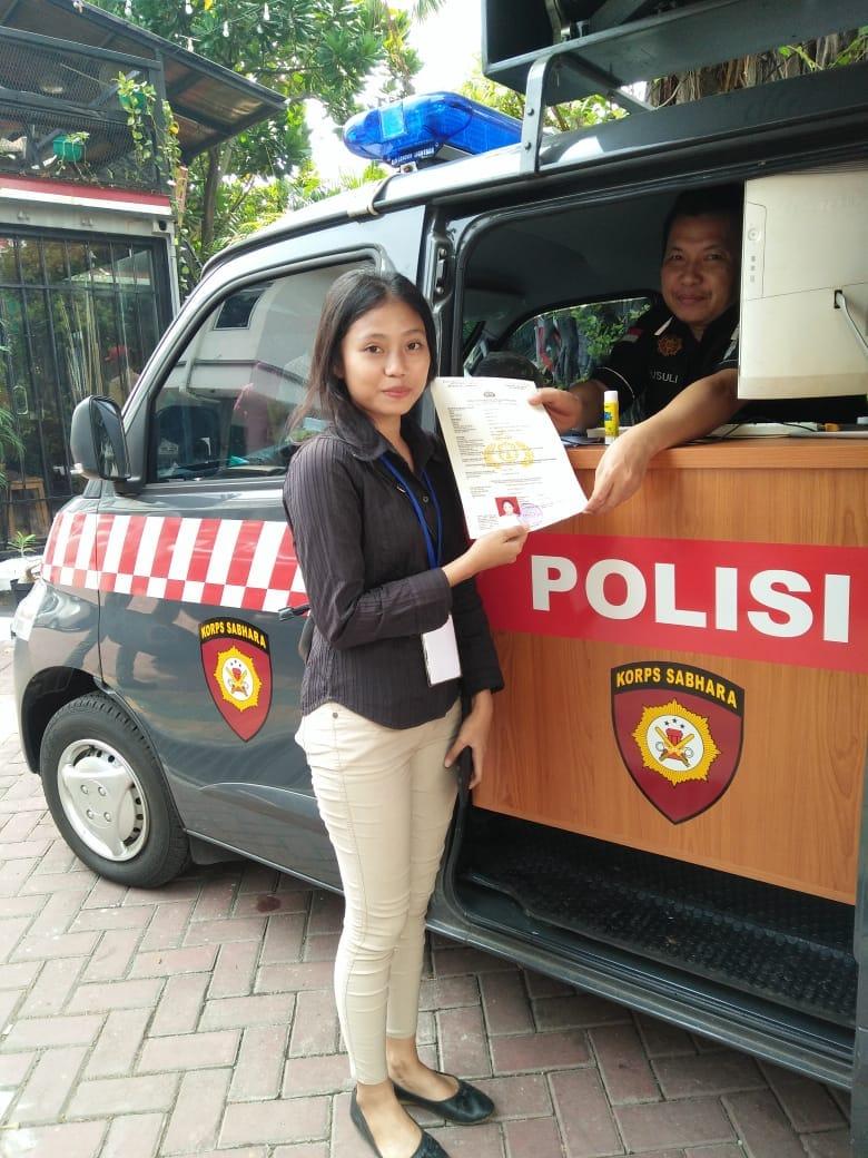 Acara Penggalangan TNI Manunggal KB Kesehatan, Polsek Taman Sari Berikan Pelayanan SKCK Gratis