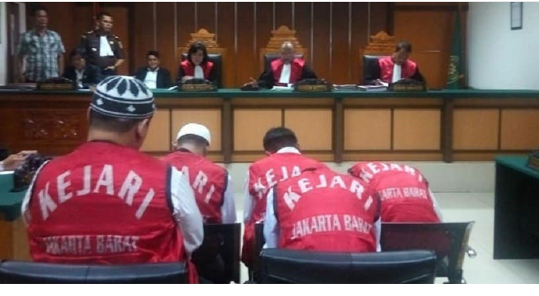 Pengadilan Jakarta Barat Vonis Mati, 2 Dari 6 Penyelundup 1,3 Ton Ganja