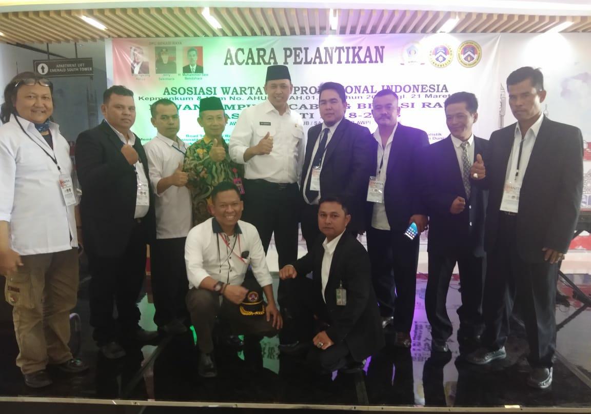 DPC Bekasi Raya Resmi Dilantik Oleh Ketum DPP AWPI Masa Bhakti 2018 – 2023