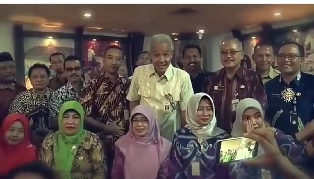 Gubenur Jawa Tengah Inginkan Peran Humas Lebih Optimal Dalam Penyampaian Dan Komunikasi