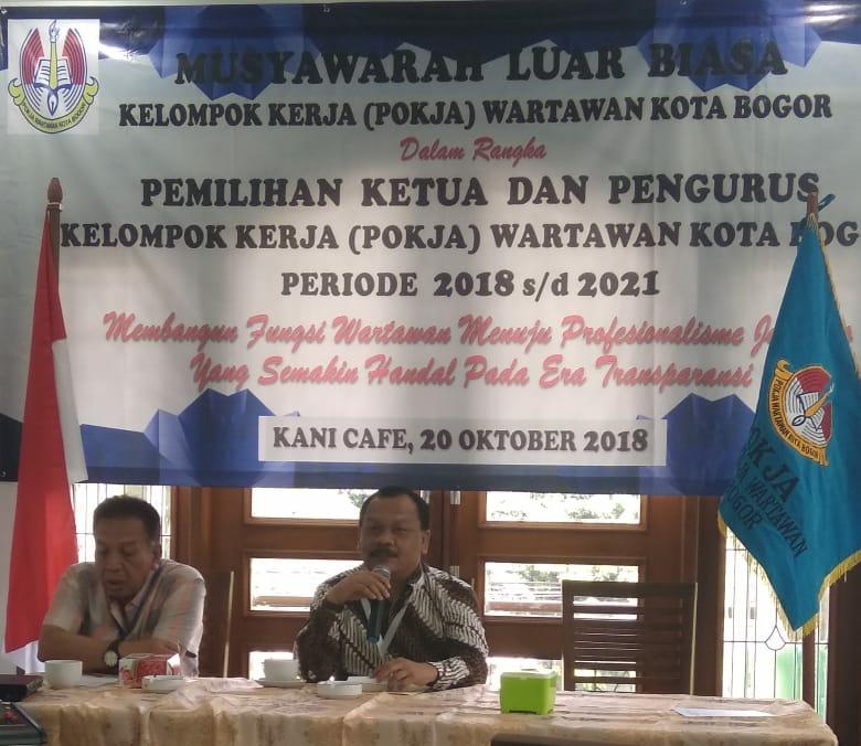 POKJA Bangkit Bersama Ketua Baru, Budi Dalemunthe Terpilih Sebagai Ketua POKJA Kota Bogor