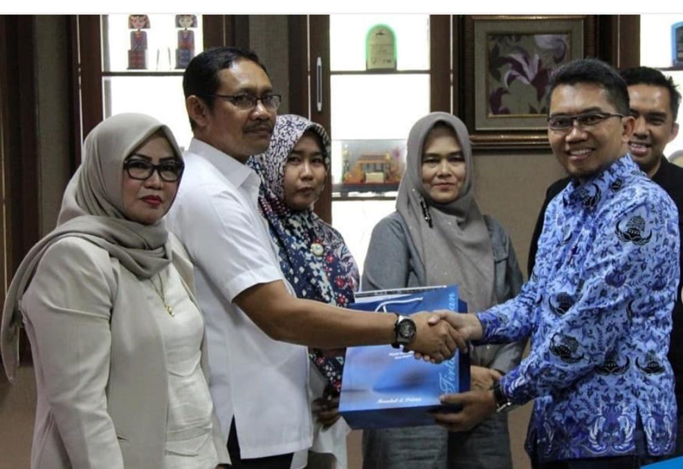 DPRD Prov Sulteng Dan PDAM Kota Palopo Berkunjung Ke PDAM Kota Bogor