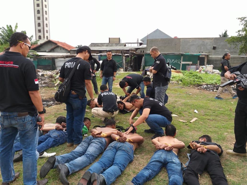 Polres Jakarta Barat Ringkus 25 Orang Diduga Menduduki Lahan Tanpa Izin