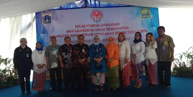 Pulau Seribu Resmikan Gerai Dekranasda Dan Gelar UKM
