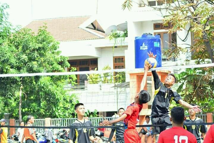 Sebanyak 21 Tim Ikuti Turnamen Bola Volly Pada Tingkat Kecamatan Jakarta Utara