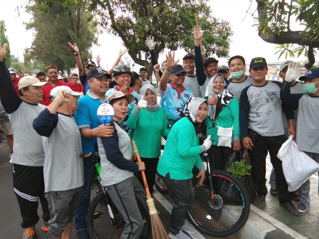 Lewat HBKB, Walikota Ajak Warga Jaga Kebersihan Danau Sunter