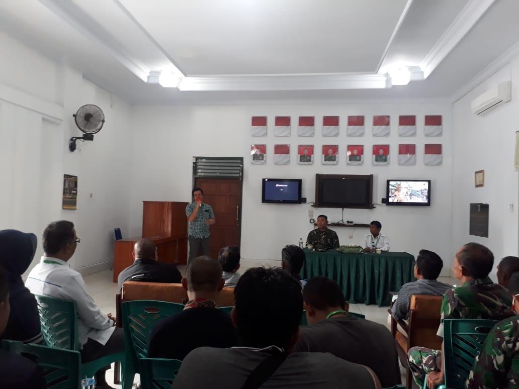 Kodim 1417 Kendari Bangun Media Center Informasi Untuk Rakyat