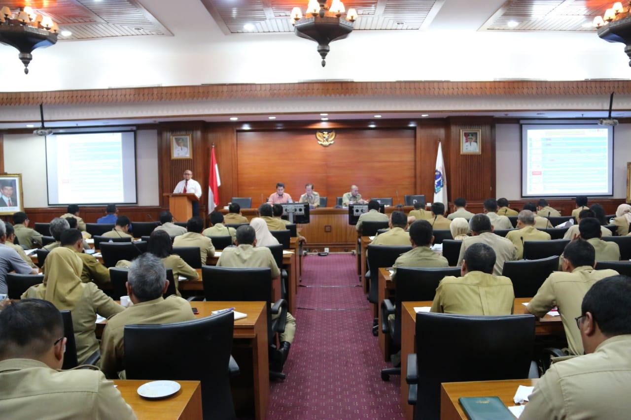 Wakil Walikota Pimpin Rapat Pimpinan Tingkat Kota Administrasi Jakarta Utara