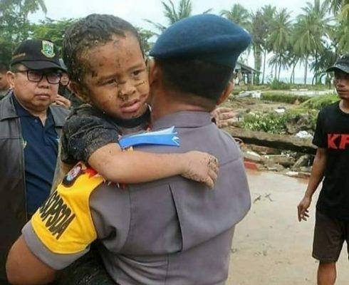 Bocah 5 Tahun' Ali Selamat Dari Terjangan Tsunami Banten