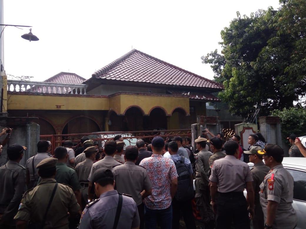 PN Jaktim Eksekusi lahan Di PTB Duren Sawit Jaktim