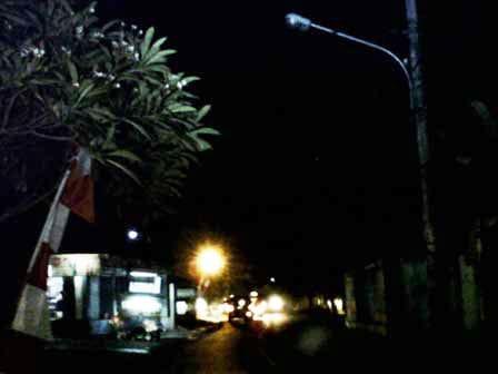 Lampu PJU Kecamatan Cilincing di Jakut Banyak Yang Mati