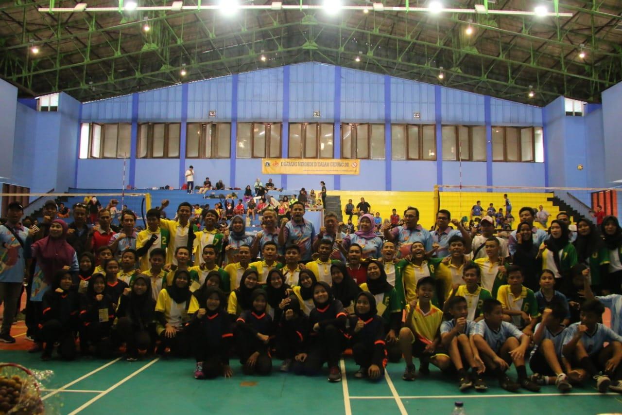Festival Olahraga Rakyat Sepanjang Tahun Cabang Bola Voli Resmi Dibuka