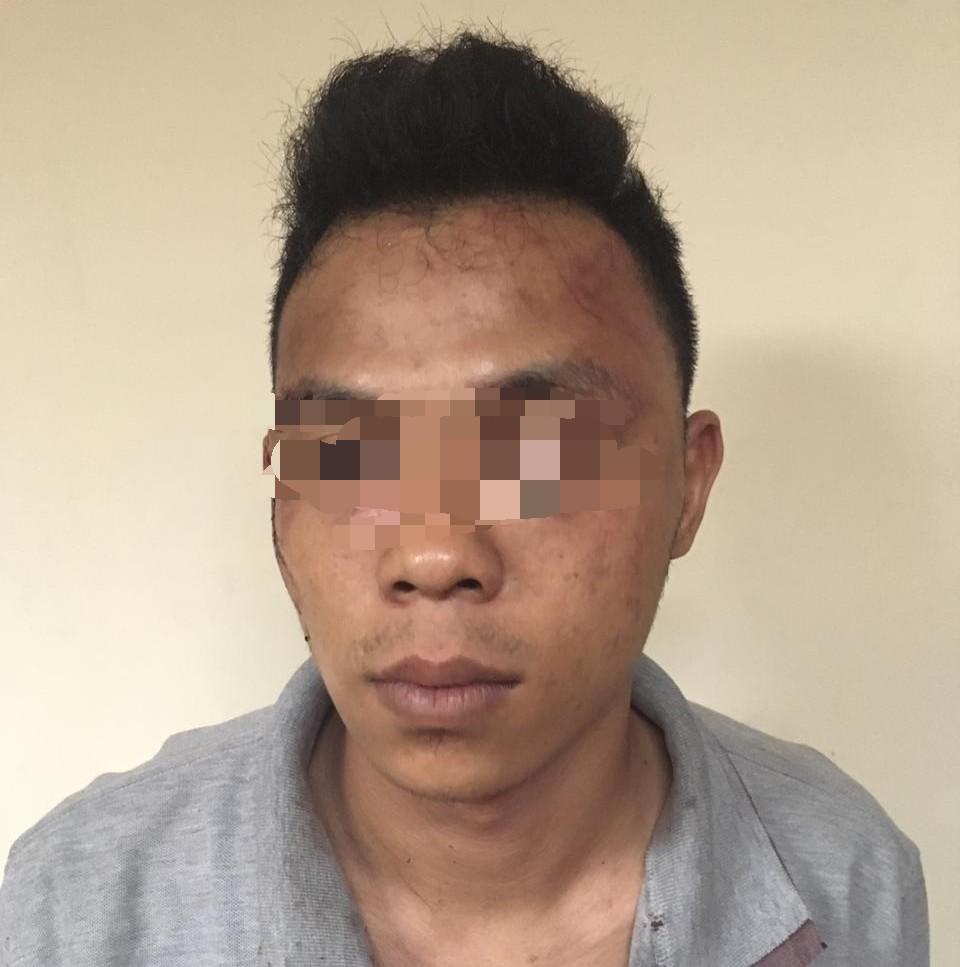 "Usai Curi Handphone Milik Karyawati Cantik"" MB Di Giring Polsek Tambora"