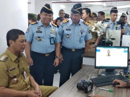 Wali Kota Jakbar Apresiasi Peresmian ULP di Mal
