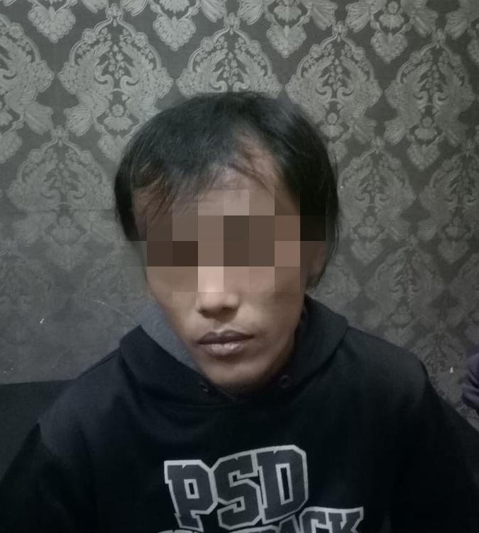 Seorang Pria Bawa Sabu Digelandang Unit Narkoba Polsek Palmerah