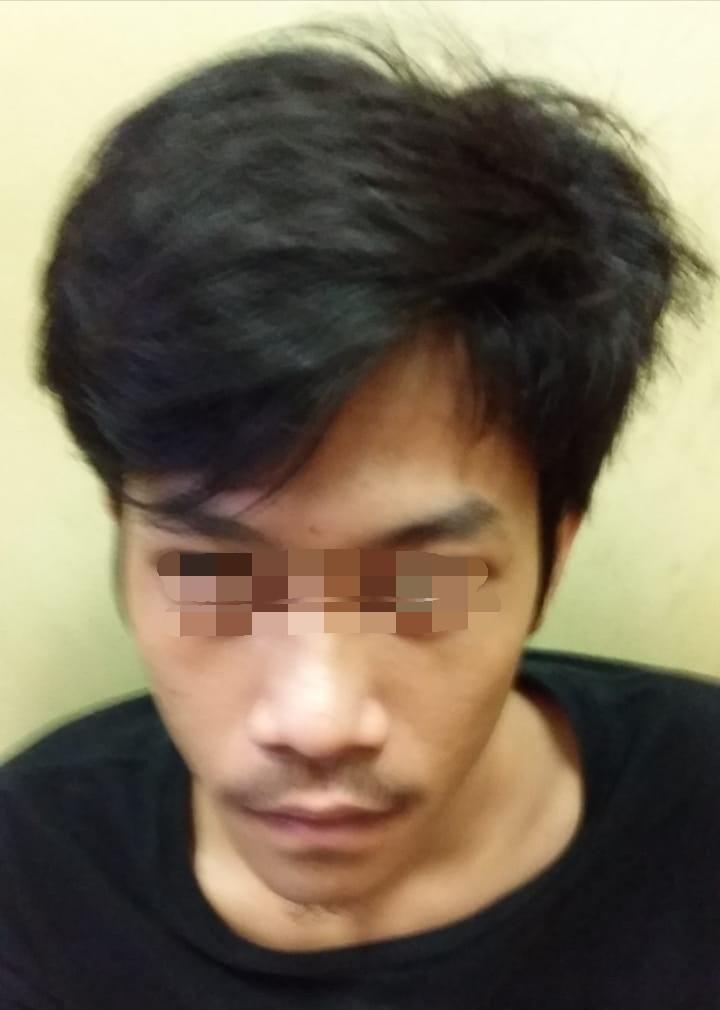 Bawa Sabu, Seorang Pemuda Digelandang Polsek Tambora