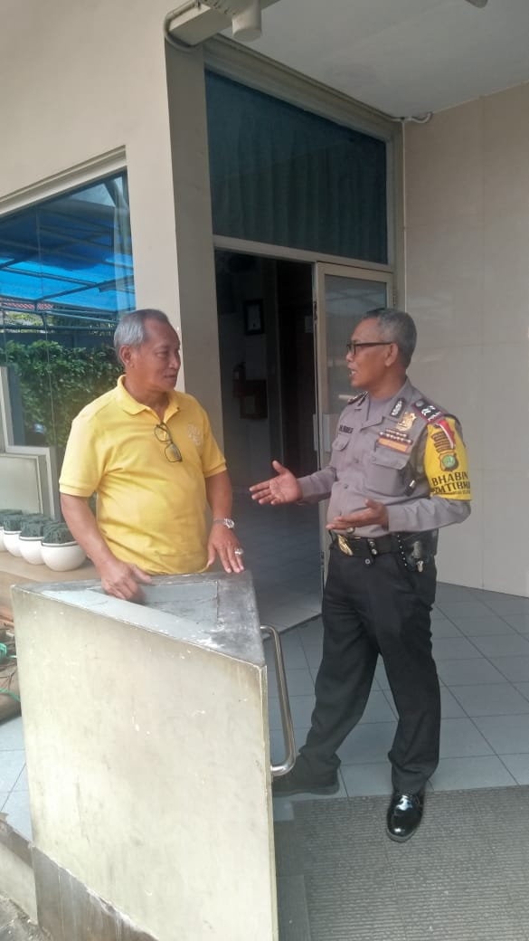 Harkamtibmas Binmas Kembangan Selatan Tingkatkan Kunjungan Dan Rangkul Parli Peduli