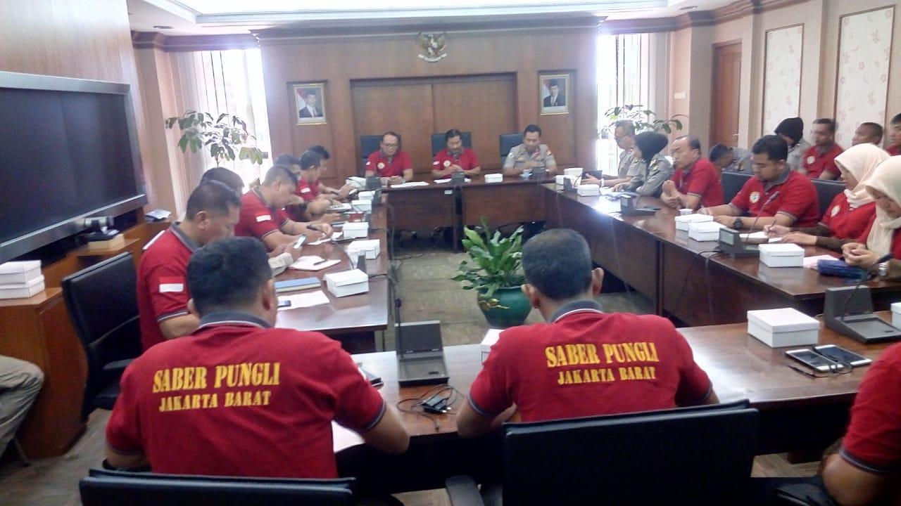 Supervisi Saber Pungli Jakarta Barat' Tingkatkan Kualitas Kinerja